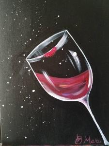 """Wine Kisses"""