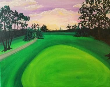 """Golf Sunsets"""